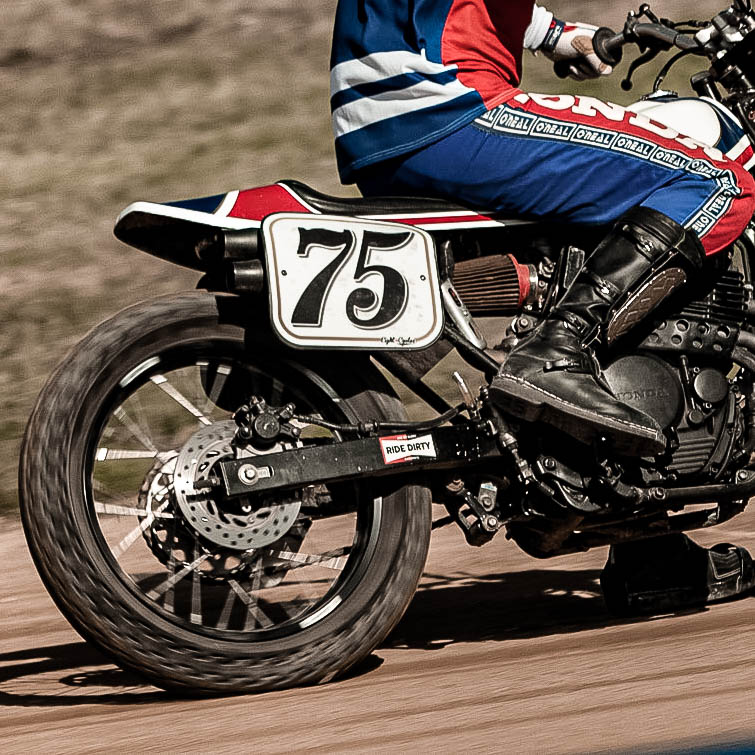 Coque flat track