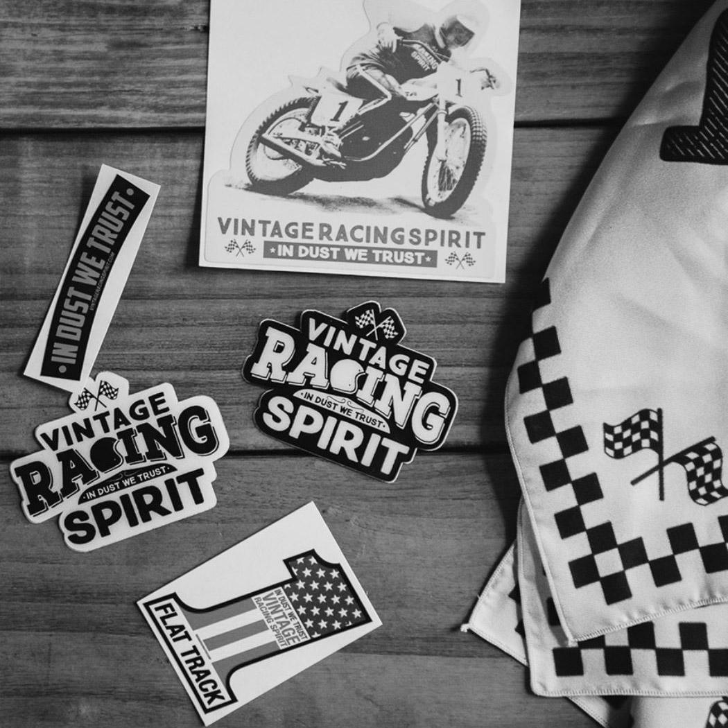 accessoires flat track et vêtements moto
